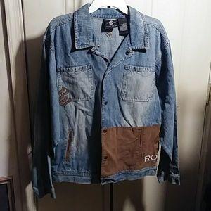 ROCA WEAR ~ Denim Jacket - Size XL (18-20)